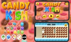 كود سورس لعبة أندرويد حلوى الكيش