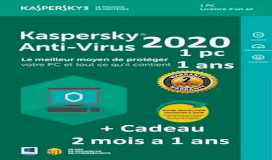 KASPERSKY ANTI-VIRUS 2020/1 DEVICE / 1 YEARS + 3 MONTHS FREE / ACTIVATION CODE