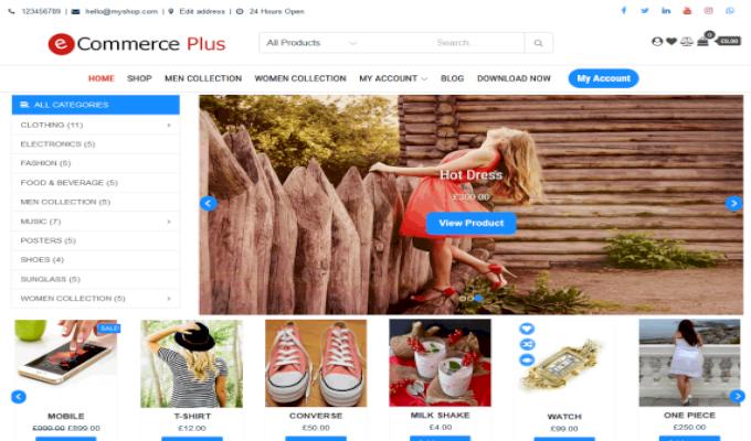 eCommerce Plus