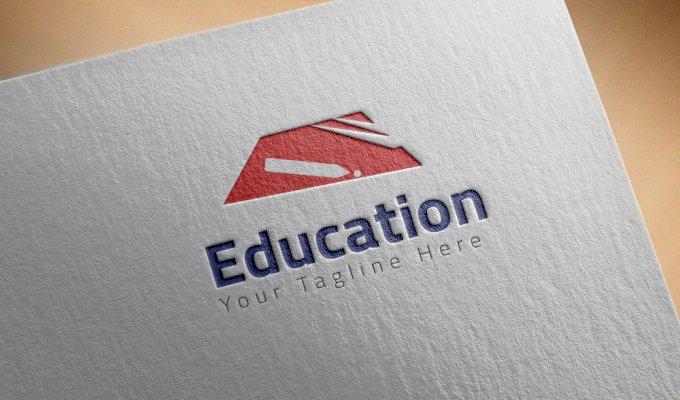شعار خاصة بالتعليم حديث  بطراز الشعارات  العالمية