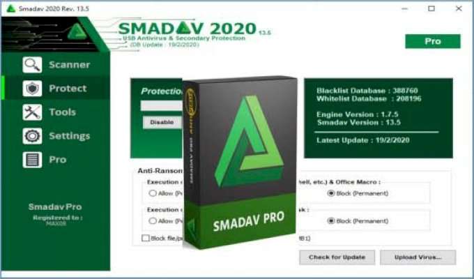 SMADAV ANTI-VIRUS PREMIUM ACCOUNT