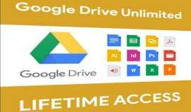 إضافة مساحة لا منتهية على جوجل درايف